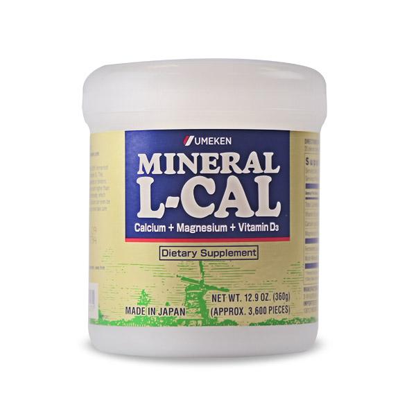 Mineral L-Calcium / Dùng khoảng 6 tháng (khoảng 3,600 viên)