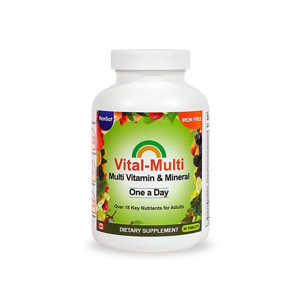 Vital-Multi Vitamin / 3 mth supply (90 tablets)