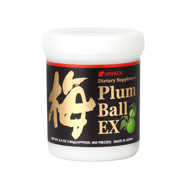 Plum Ball EX (180g) / 3 mth supply