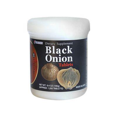 Fermented Black Onion Tablets / 2 mth supply (1,333 balls)