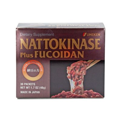 Nattokinase (plus Fucoidan) / 1 mth supply (30 packets)